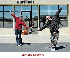 Artists At Work, Santa Maria (KSMX)...