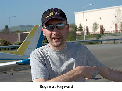 Boyan B. at Hayward.