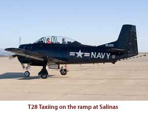 T28 on Salinas ramp