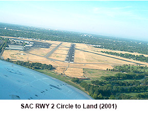 SAC RWY 2 circle to land