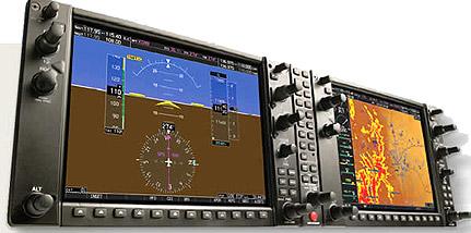Garmin G1000 Panel shot